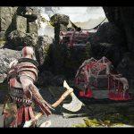 【ゴッドオブウォー攻略】アイテムを拾い忘れたら鍛冶屋へ行くといいぞ!&大滝の岩場のアイテムの取り方。