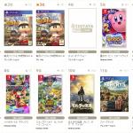 【TSUTAYA】ゲームソフト週販ランキング 1位ドンキ―! 2位パワプロPS4! 3位パワプロVita!2018年5月7日(月)~2018年5月13日(日)