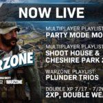 『COD:MW』新マップCheshire Parkがプレイリストに帰ってきたのが嬉しい!7/18からダブルXP開催など。